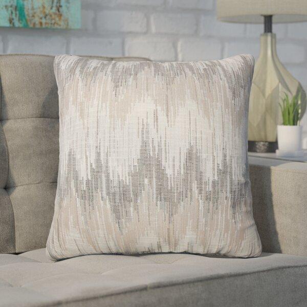 Wiegand Ikat Down Filled Throw Pillow by Brayden Studio