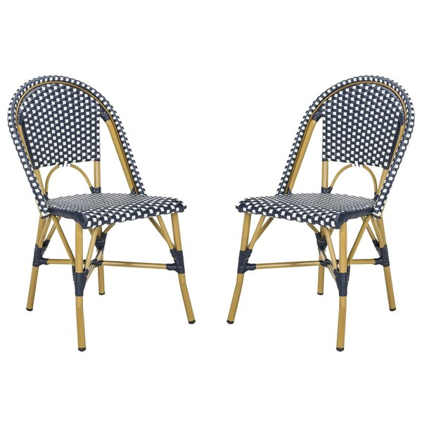 Rahul Stacking Patio Dining Chair (Set Of 2) By Mistana by Mistana 2020 Online