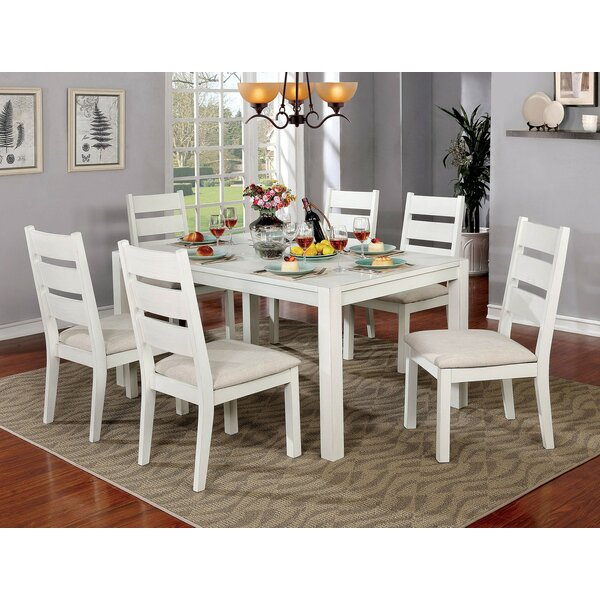 Ponder 7 Piece Dining Set by August Grove