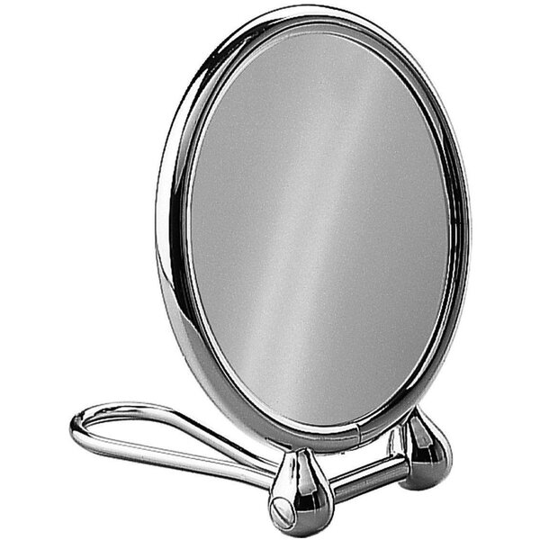 Cramer Round Double-Sided Makeup/Shaving Mirror by Ebern Designs