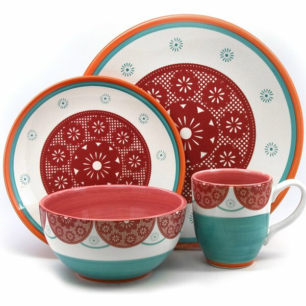 Eastampton 16 Piece Dinnerware Set, Service for 4 by Red Barrel Studio
