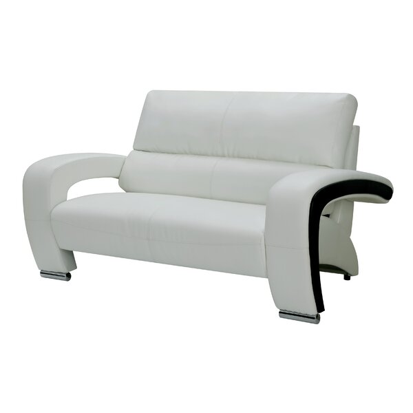 Obrian Contemporary Loveseat by Orren Ellis