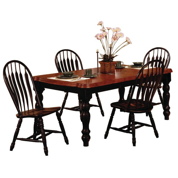 @  Lockwood 5 Piece Dining Set By Loon Peak Wonderful