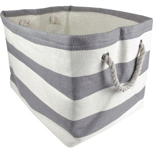 Striped Storage Tote ByDesign Imports