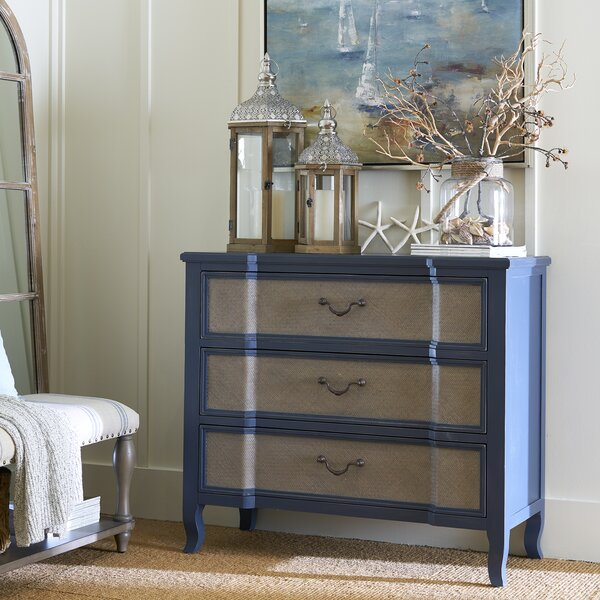 Donavan 3 Drawer Bachelors Chest by One Allium Way