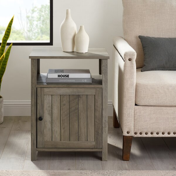 Justice End Table By Laurel Foundry Modern Farmhouse