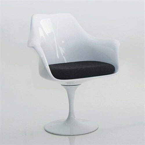 Eos Swivel Dining Arm Chair by Mobital