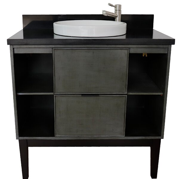 Aston 37 Single Bathroom Vanity by Bloomsbury MarketAston 37 Single Bathroom Vanity by Bloomsbury Market