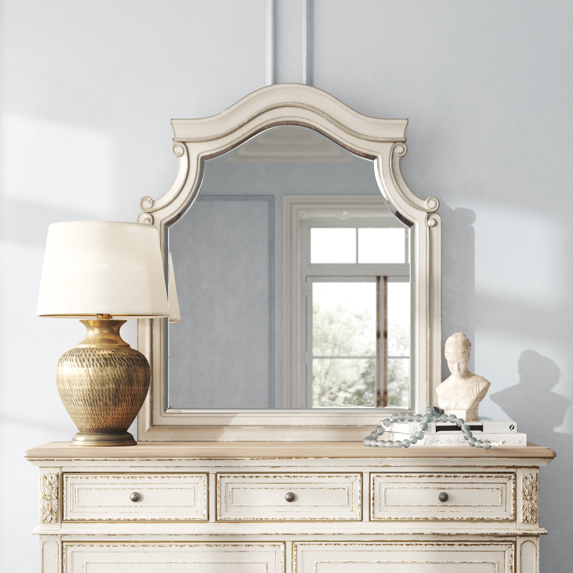 Cottage Country Dresser Mirror Mirrors You Ll Love In 2021 Wayfair