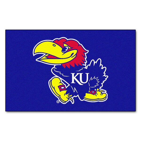 Collegiate NCAA University of Kansas Doormat by FANMATS