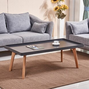 Check Prices Simmerman Raised Edge Coffee Table By Wrought Studio