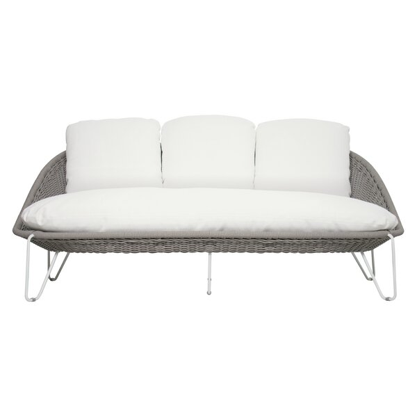 Archipelago Aegean Patio Sofa with Sunbrella Cushions by Seasonal Living