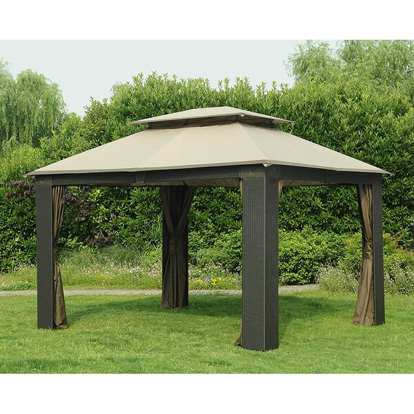 Replacement Canopy for Antigua Wicker Gazebo by Sunjoy