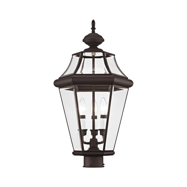 Avon Outdoor 3-Light Lantern Head by Darby Home Co