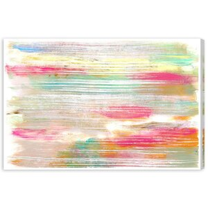 Laila Painting Print on Wrapped Canvas by Latitude Run