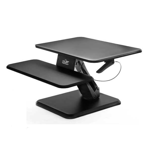 Zack Airlift 25 Personal Standing Desk Converter by Symple Stuff
