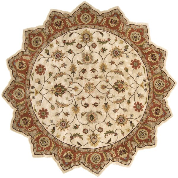 Stanford Golden Beige Rug by Charlton Home