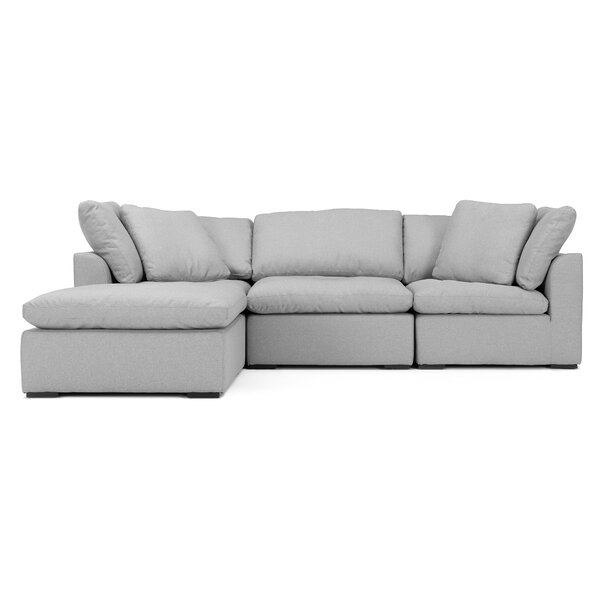 New Look Grantville Modular Sectional with Ottoman by Three Posts by Three Posts