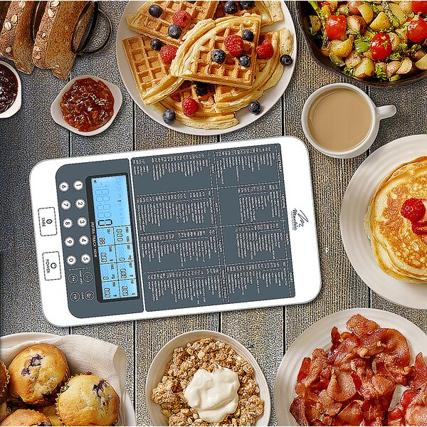 NutraTrack Digital Kitchen Scale by NutraTrack Mini