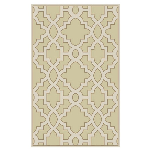 Modern Classics Cream/White Area Rug by Candice Olson Rugs
