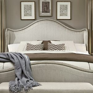 Clevinger Upholstered Wingback Headboard