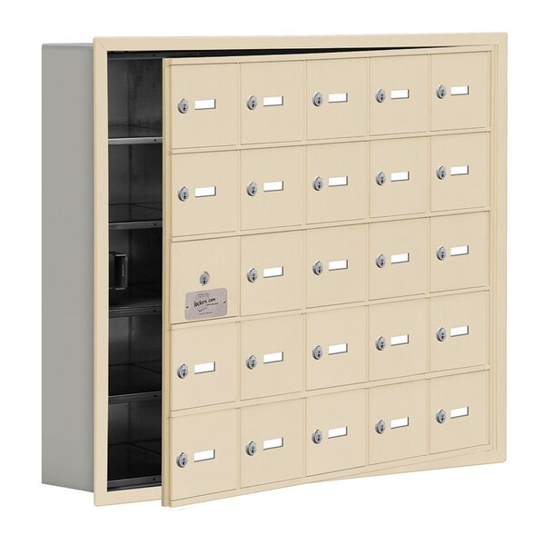 5 Tier 5 Wide EmpLoyee Locker by Salsbury Industries