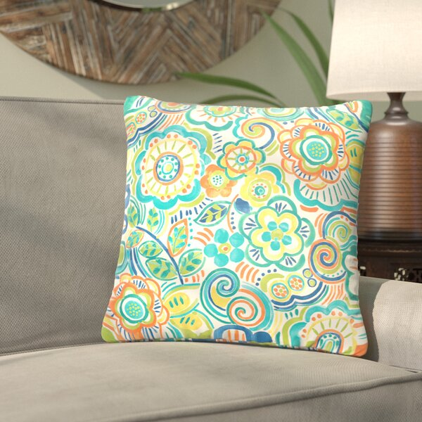 Lucie Outdoor Throw Pillow (Set of 2) by Bungalow Rose