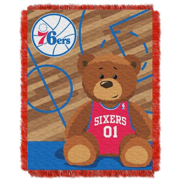 NBA 76ers Half Court Baby Throw by Northwest Co.