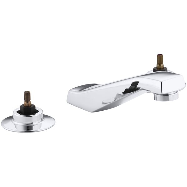 Triton Widespread Commercial Bathroom Sink Faucet Drain Not Included and Lift Rod Requires Handles by Kohler Kohler