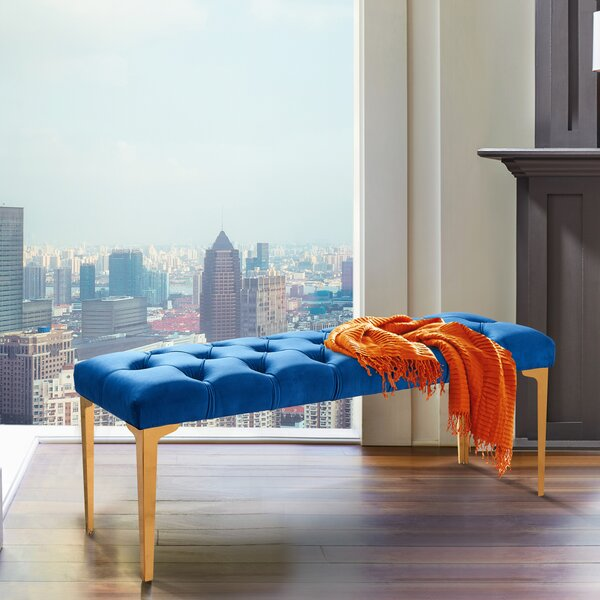 Hinkel Upholstered Bench by Mercer41
