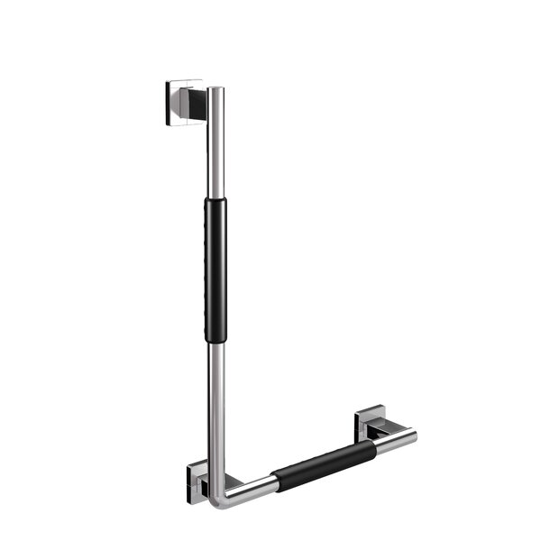 System Right Corner Grip Grab Bar by WS Bath Collections