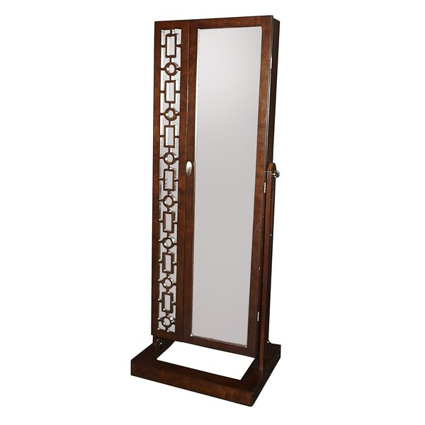 Critchfield Cheval Jewelry Armoire with Mirror by Darby Home Co