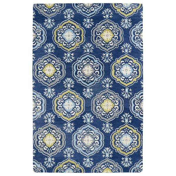 Casper Blue Area Rug by Charlton Home