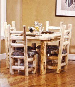 Leatherwood Solid Wood Dining Table by Millwood Pines Millwood Pines