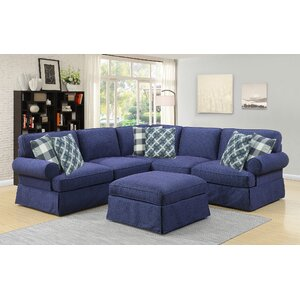 Golden Valley Reversible Sectional by August Grove