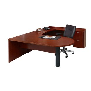 Savings Mira Series U-Shape Executive Desk ByMayline Group