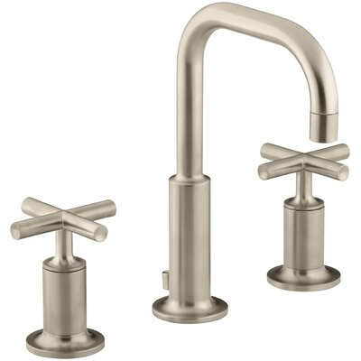 Sink Faucet Low Brushed Bronze 645 Product Photo