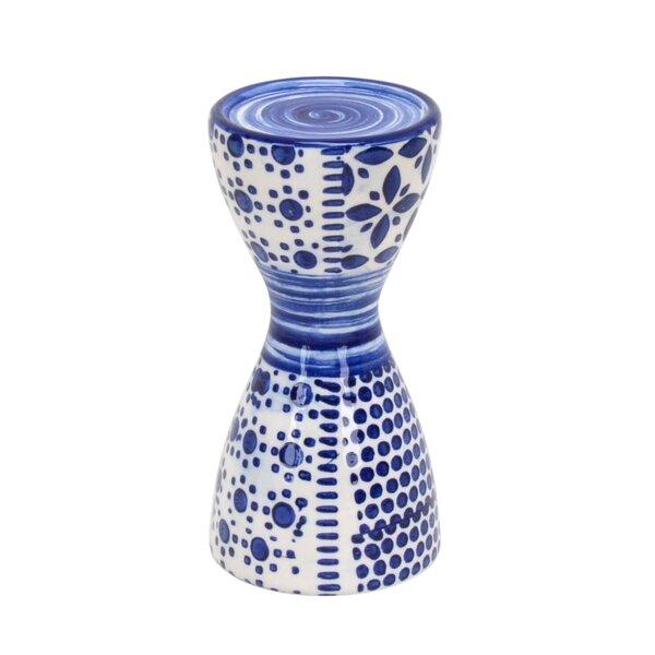 Pillar Ceramic Candlestick by Winston Porter