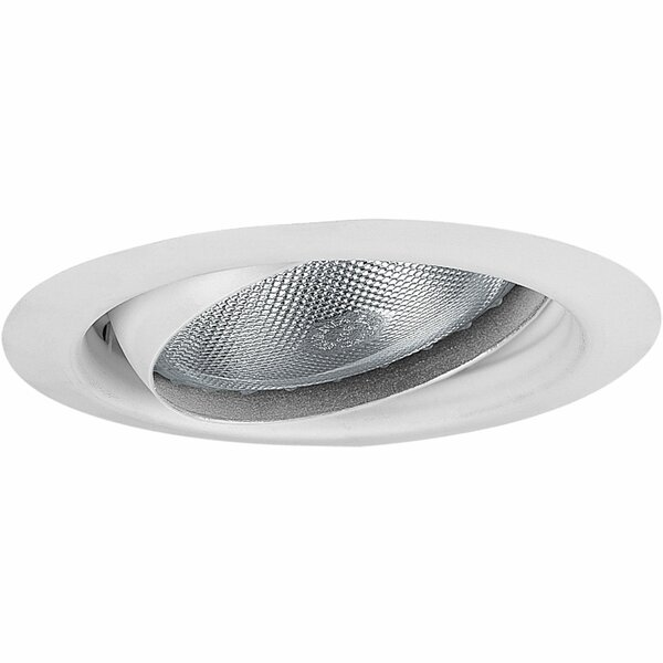 Eyeball 3.8 Recessed Trim by Progress Lighting