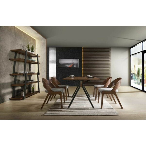 Runyon 5 Piece Dining Set by George Oliver