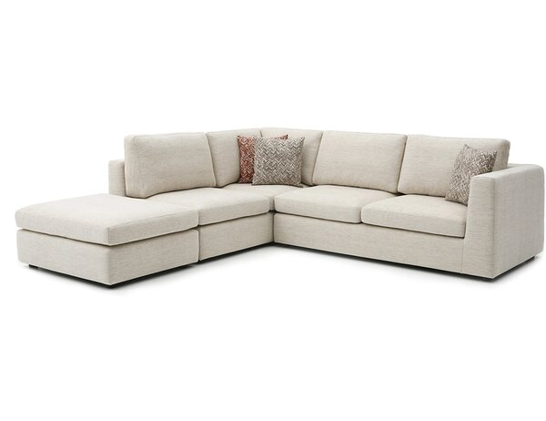 Emily 106-inch Sectional by Focus One Home Focus One Home