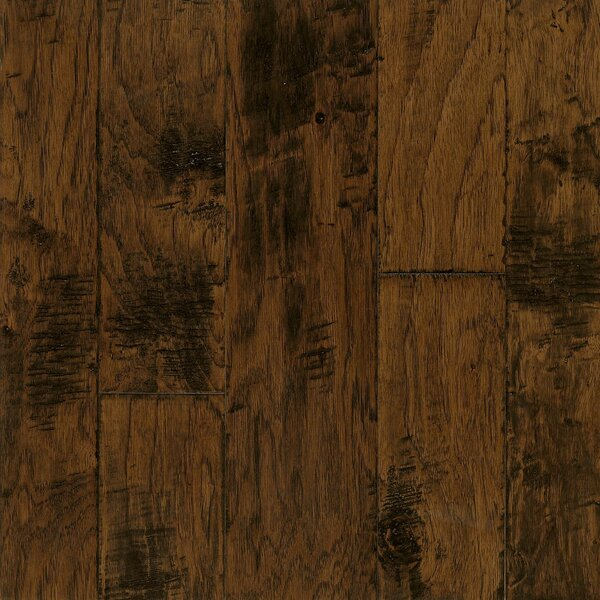 Artesian Random Width Engineered Hickory Hardwood Flooring in Harvest by Armstrong Flooring