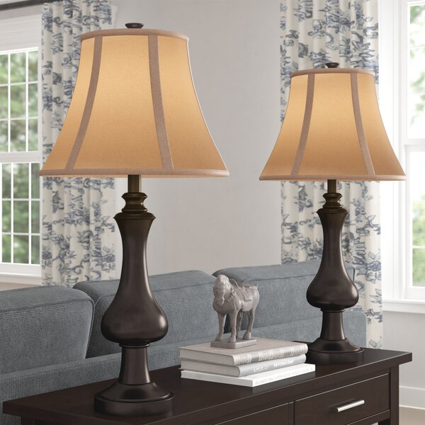 Eastlake 28.75 Table Lamp (Set of 2) by Three Posts