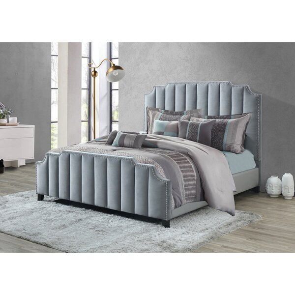 Kaden Upholstered Standard Bed by Rosdorf Park