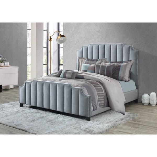 Kaden Upholstered Standard Bed by Rosdorf Park