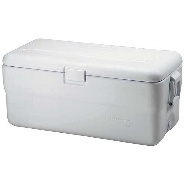102 Qt. Marine Ice Chest Cooler by Rubbermaid