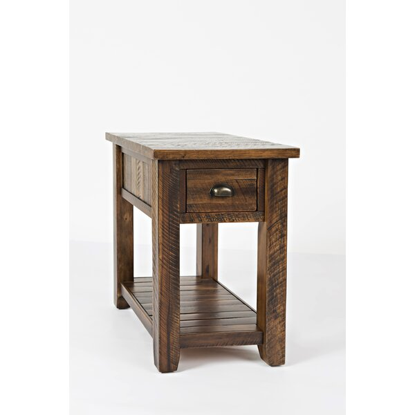 Jalynn Solid Wood End Table With Storage By Mistana