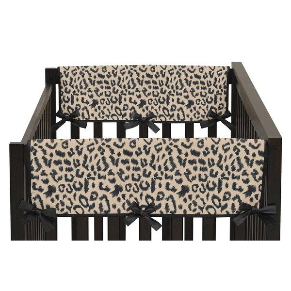 Animal Safari Side Crib Rail Guard Cover (Set of 2) by Sweet Jojo Designs