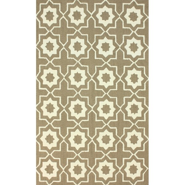 Lester Brown Super Bold Area Rug by Darby Home Co