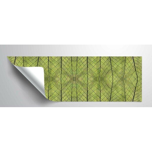 Geometric Leaf I Wall Decal by World Menagerie